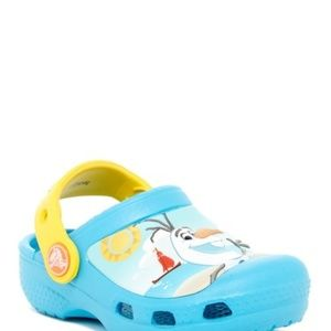 CROCS Shoes - Crocs Frozen Olaf Clog Electric Blue Sz12/13 NEW